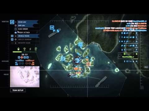 Hex Play's: BF4 Commander Mode Ep. 44: LOST COMMANDER!!!