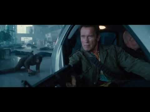 The Expendables 2 - Smart car scene (1080p high quality)