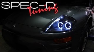 SPECDTUNING INSTALLATION VIDEO: 2000 2005 MITSUBISHI