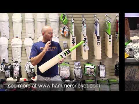 @gmcricket Graeme Smith Players edition cricket bat video review