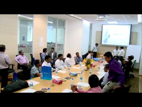 Tata Communications Data Center Visit organized by IT Next, 24th January, 2014