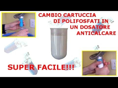 Cambio cartuccia su dosatore anticalcare di polifosfati - Caldaia per casa 3 piani ...