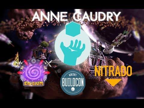 Anne Caudry - Building Event Minecraft au profit de Sidaction