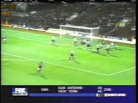 2000 (March 8) West Ham United 2- Southampton 0 (English Premier League)