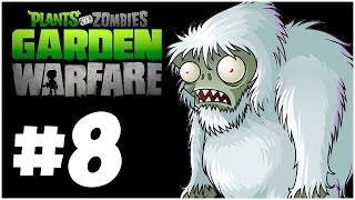 Plants vs. Zombies Garden Warfare Walkthrough - HARD MODE!! Co-Op - PART 8 (Xbox One 1080p HD)
