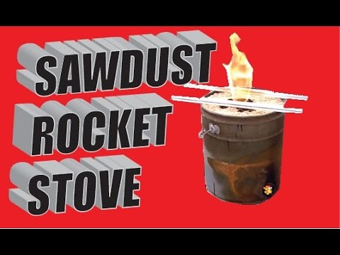 Videos wood rocket stove videos for Build your own rocket stove