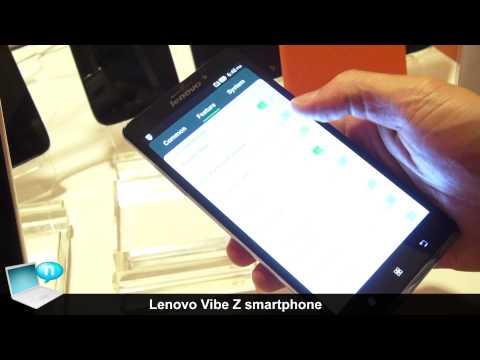 Lenovo Vibe Z smartphone