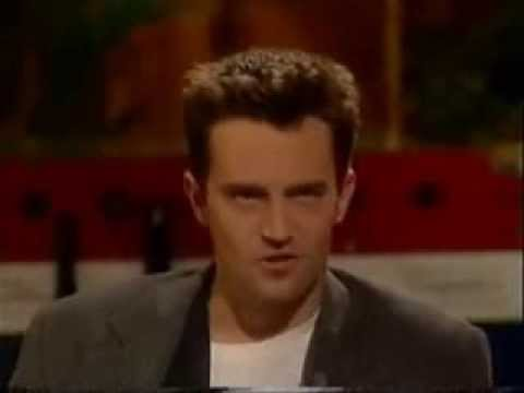 Gaby Roslin meets Friends cast - Matthew Perry, Matt LeBlanc and David Schwimmer part 3
