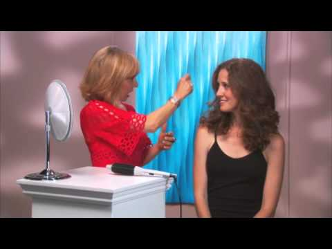 ... Wavey Hair To Smooth Defined Curls - Perfecter Fusion Styler - YouTube