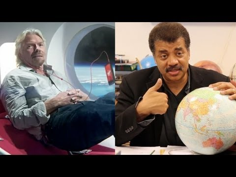 NEIL DEGRASSE TYSON: Richard Branson's Virgin Galactic Barely Takes People Into Space