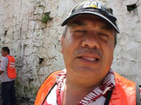 Genaro Bernal-Director de Maquinaria Pesada de Acapulco-trabajando a marcha forzada las 24 horas