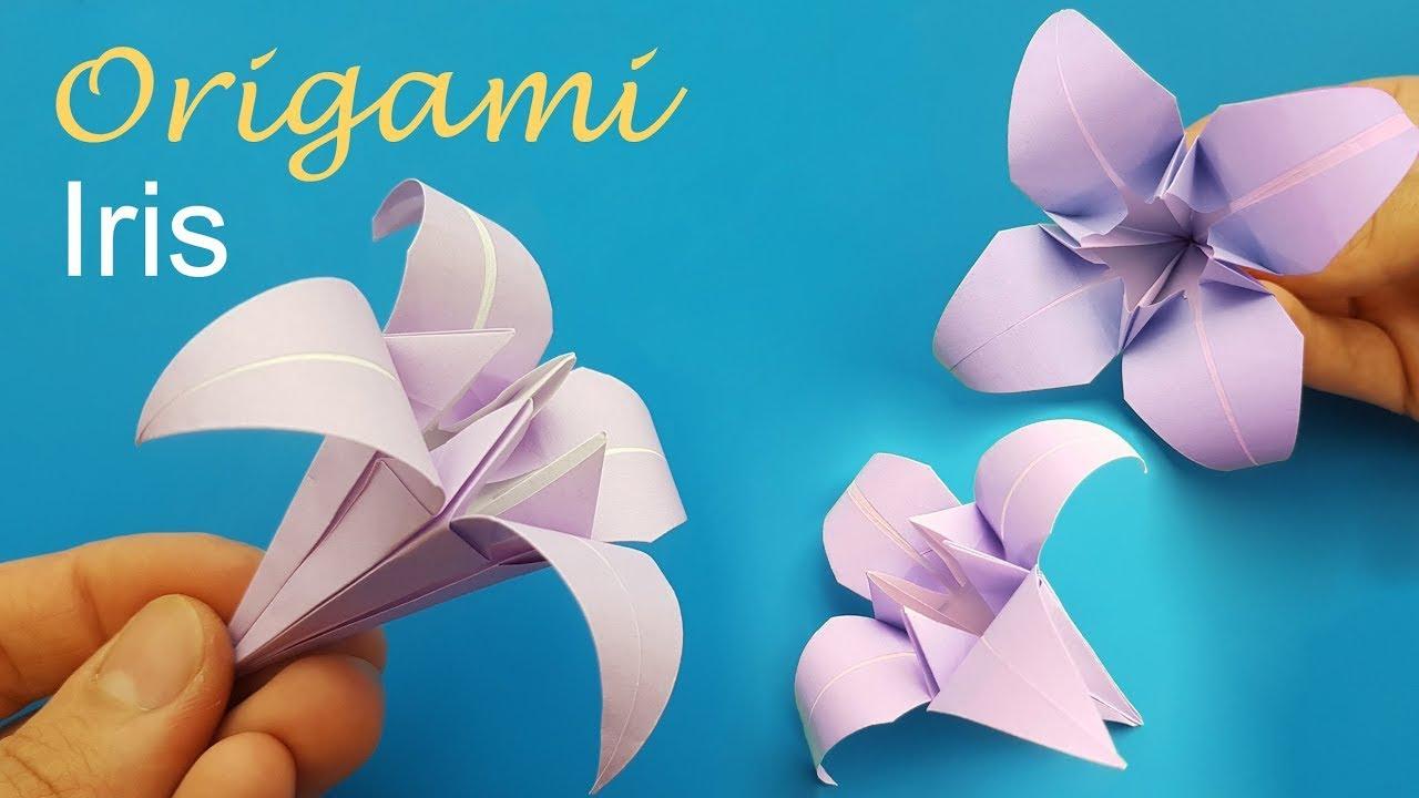 origami fiore di loto facile youtube. Black Bedroom Furniture Sets. Home Design Ideas