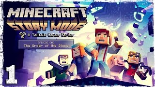 Прохождение игры Minecraft Story Mode.