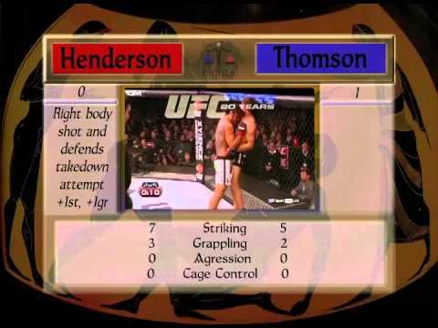 Benson Henderson V Josh Thomson
