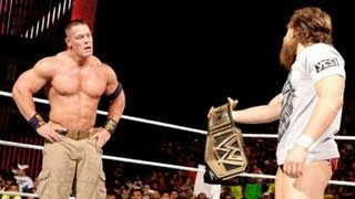 WWE SUMMERSLAM 2013  - JOHN CENA VS DANIEL BRYAN - WWE CHAMPIONSHIP MATCH PREDICTIONS (MACHINIMA)