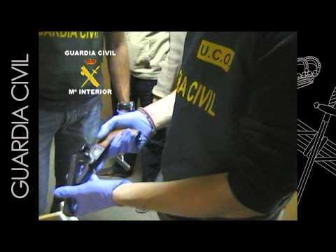 OPERACIÓN PICUAL. Desmantelada una armería clandestina que proporcionaba armas de fuego a una organización de narcotraficantes.