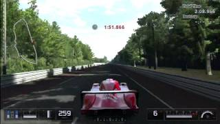 GT5 Toyota GT-ONE Race Car Top Speed Run BEAST