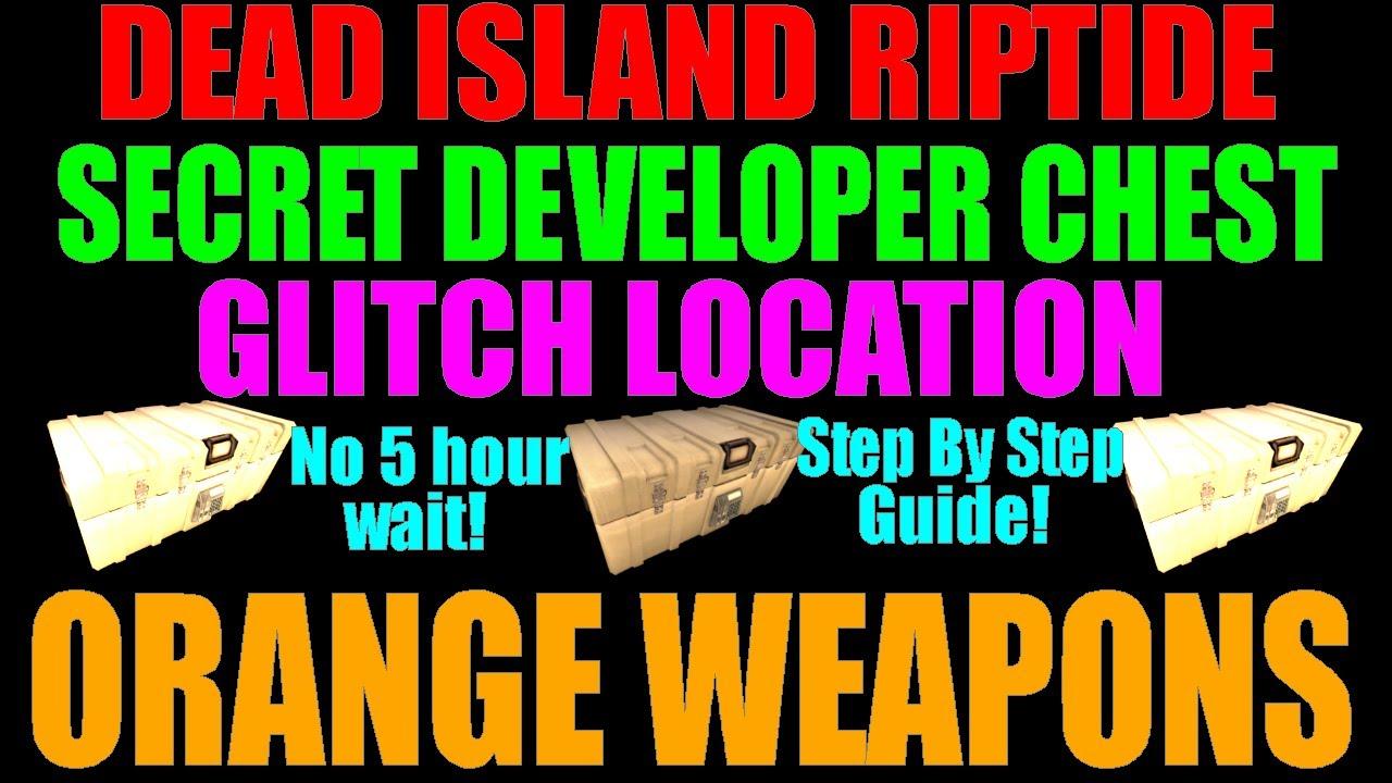 Dead Island Riptide Secret Weapons