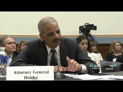 Holder versus Gohmert, Part One