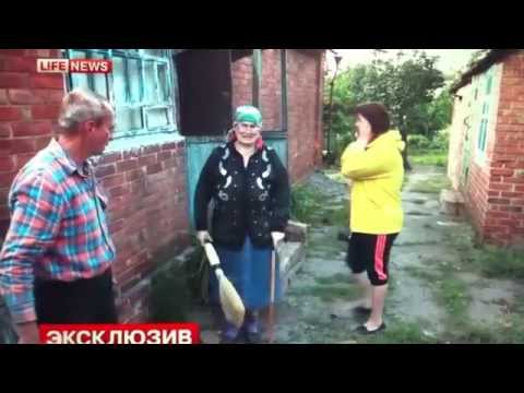 ENG SUBS - 5yo kid died, his mom died instantaneously in shelling Slaviansk
