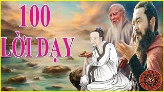 100 Lời dạy của  Khổng Tử, Lão Tử, Tào Tháo và Trang Tử giúp bạn thay đổi cuộc sống mở rộng tấm lòng