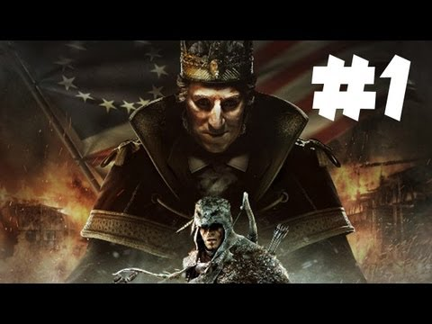 Assassin's Creed 3 King Washington DLC Gameplay Walkthrough - Part 1 (Xbox 360/PS3/PC HD)