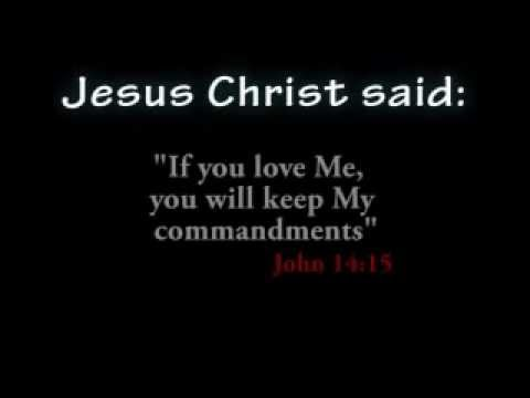 49 General Commands of Jesus Christ: If you love Me, you ...