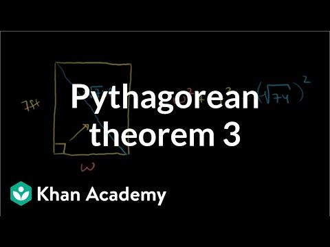Pythagorean Theorem 3