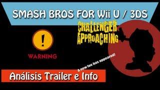 Analisis Review Super Smash Bros Wii U 3DS E3 2013 Trailer