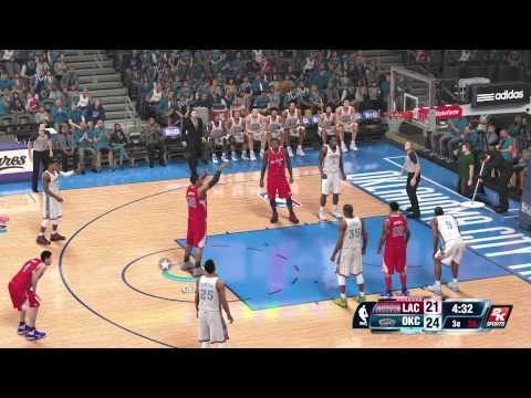 NBA 2K14 Playoffs : Clippers vs Thunder