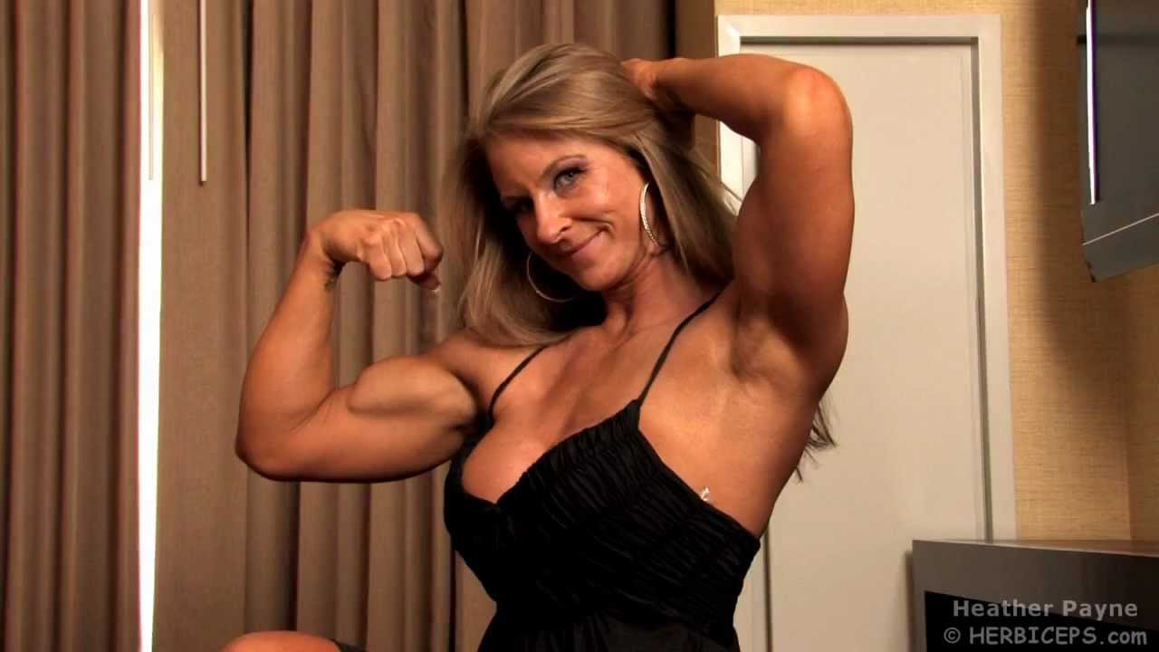 Amazing Biceps Girl - YouTube