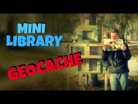MINI LIBRARY GEOCACHE!