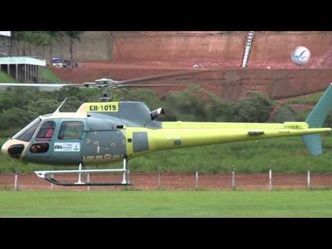 Primeiro voo do helicóptero Fennec modernizado