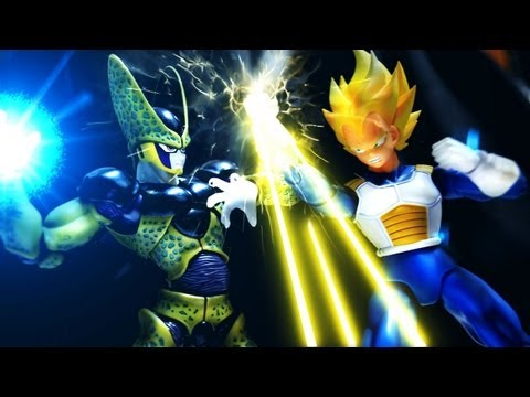 BRUTAL! Dragon Ball Z Stop Motion: Z Warriors vs. Cell