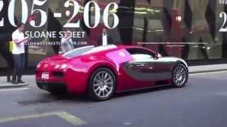 [Direct accident Bugatti madness in london] Video