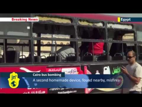 Bus Bomb Rocks Cairo: Several injured after homemade explosive device detonates