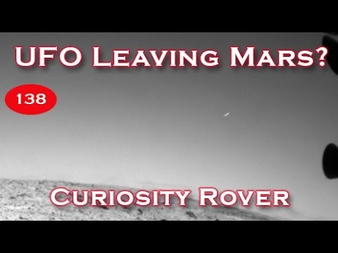 UFO Leaving Mars Found In January 2014 New Curiosity Rover Pictures?