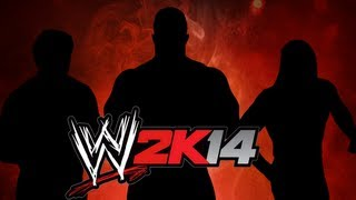 3 NEW SUPERSTARS IN WWE 2K14 NEVER IN WWE GAMES BEFORE