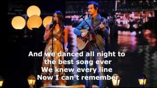 Alex And Sierra Best Song Ever (lyrics + Pictures) HD