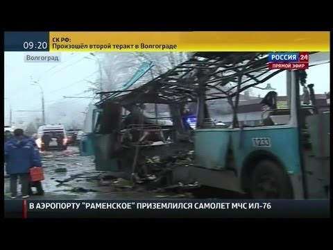 Russia explosion on trolleybus kills at least 10