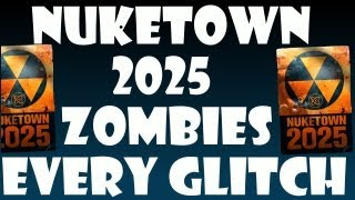 Every Glitch On Nuketown 2025 Zombies!