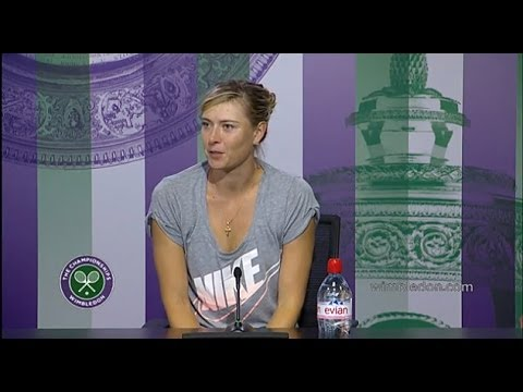 Maria Sharapova 'starting from scratch' - Wimbledon 2014