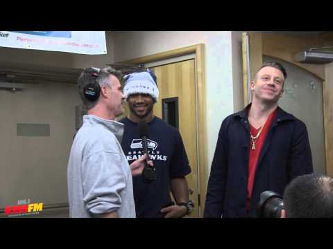 Bender interviews Russell Wilson and Macklemore / Seattle Children's Hospital / One Big Kiss