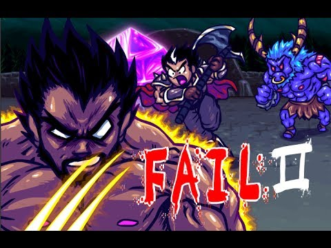LEAGUE OF LEGENDS FAIL 2 (18+) Udyr of The North Star