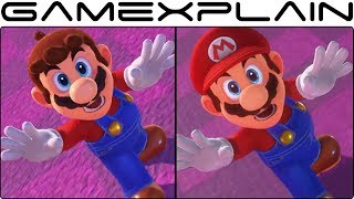 How Super Mario Odyssey's Opening Has Changed Since the Reveal Trailer (Graphics Comparison)