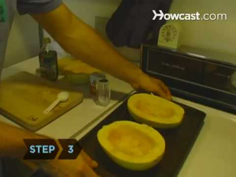 how to cook spaghetti squash in microwave youtube