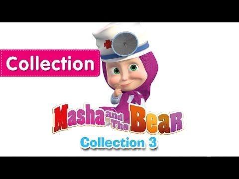 Máša a medvěd - kolekcie troch části
