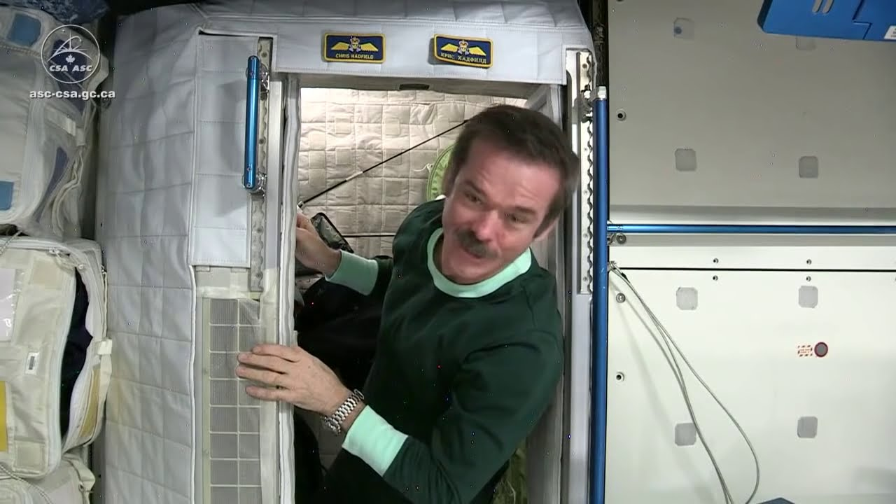 how do you sleep in space video youtube