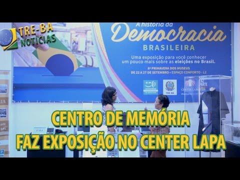 TRE-BA Notícias: TRE-BA faz exposição de acervo em shopping center