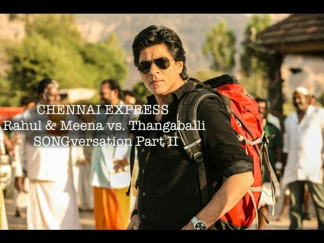 Chennai Express I Thangaballi joins Rahul & Meenamma in SONGversation I Funny Scene
